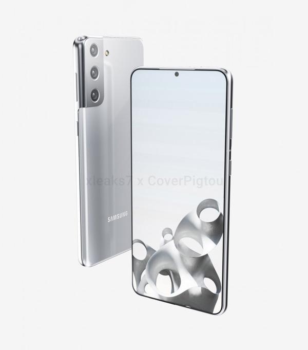 Samsung Galaxy S21 plus render