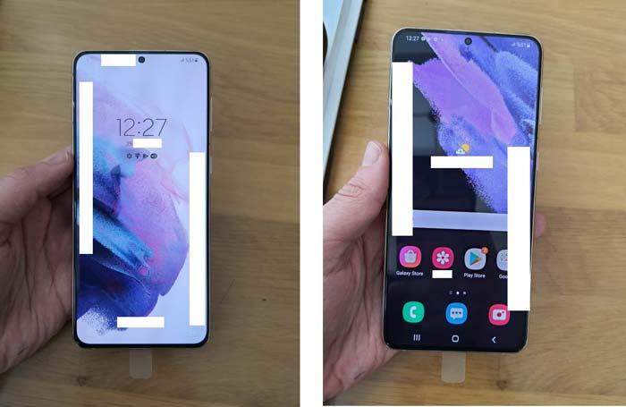 Samsung Galaxy S21 plus wild