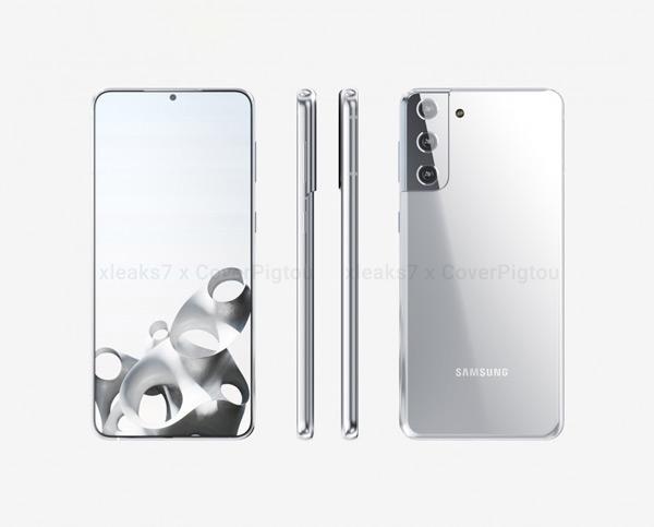 Samsung Galaxy S21+ render 4