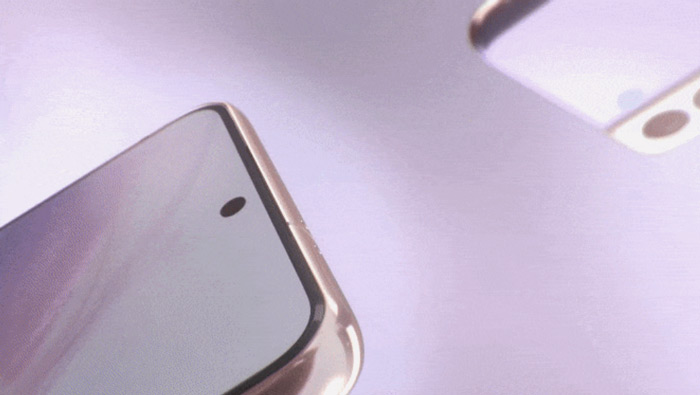 Samsung Galaxy S21 voorkant render