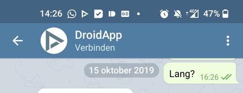 Telegram Storing 16 december