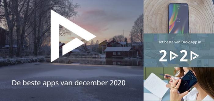 De 7 beste apps van december 2020 (+ het belangrijkste nieuws)