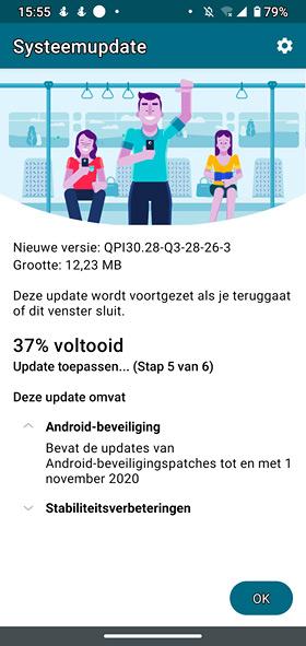 moto g8 plus november update