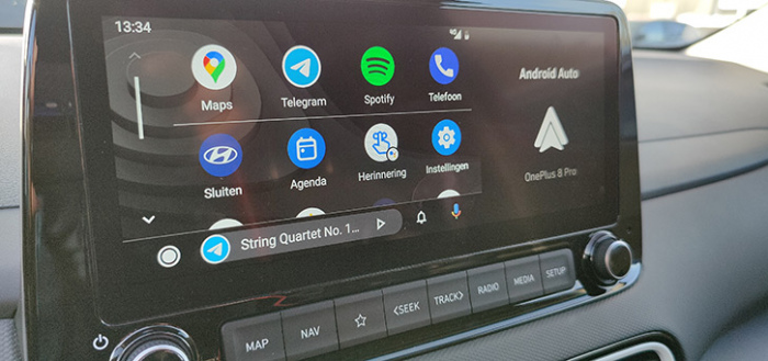 Android Auto krijgt wegvriendelijke games, privacy-modus en breder scherm