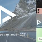 De 6 beste apps van januari 2021 (+ het belangrijkste nieuws)