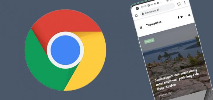 Chrome voor Android krijgt nieuw deelmenu: QR-code en screenshot-editor