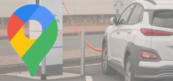 Google Maps krijgt verbeteringen elektrische auto's (EV): laadstations langs route