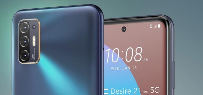 HTC komt met nieuwe Desire 21 Pro; met 5G en prima specs