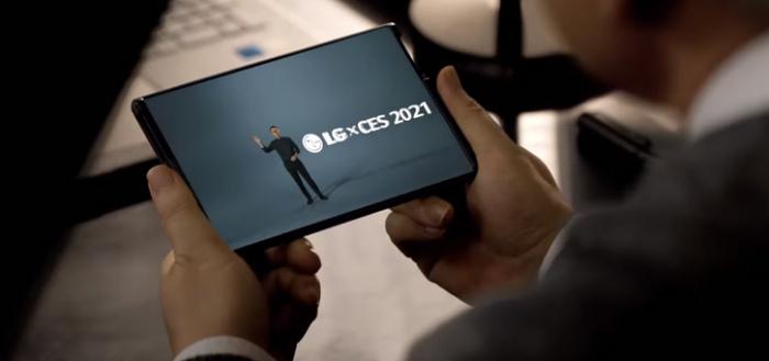 LG toont Rollable-smartphone met rolbaar scherm op CES