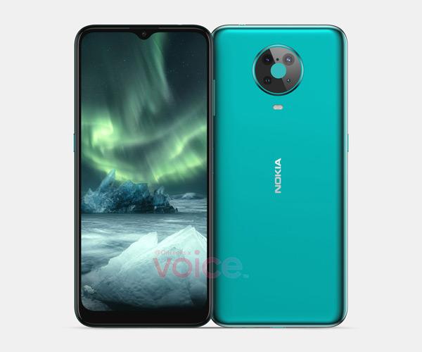 Nokia 6.3 render
