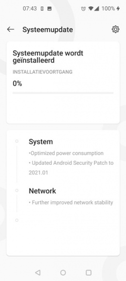 OnePlus Nord N10 OxygenOS 10.5.9