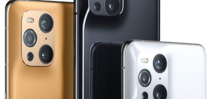 Oppo Find X3 Pro duikt op in persfoto's: een bijzonder ontwerp