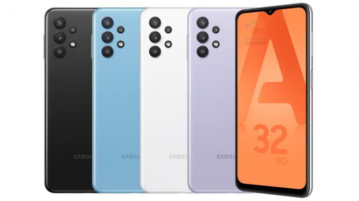 Samsung Galaxy A32 persfoto
