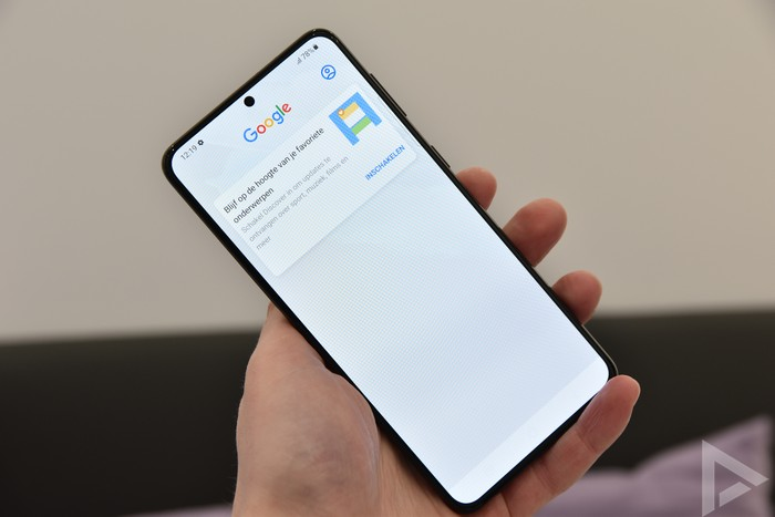 Samsung Galaxy S21 Google Discover