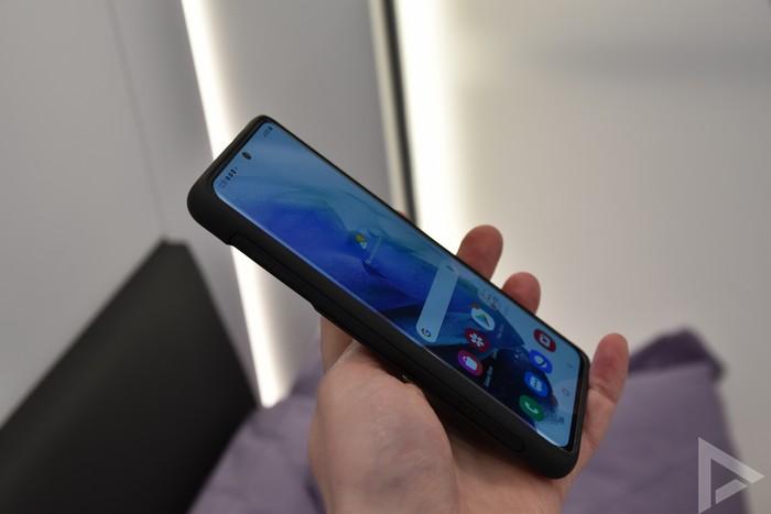 Samsung Galaxy S21 S Pen cover