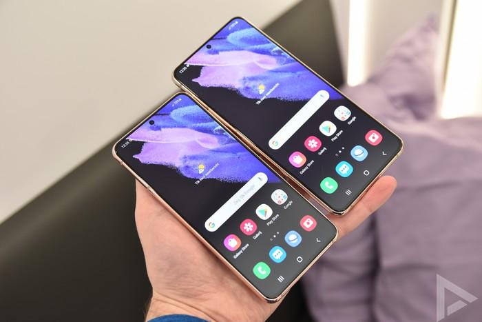 Samsung Galaxy S21 en S21 Plus