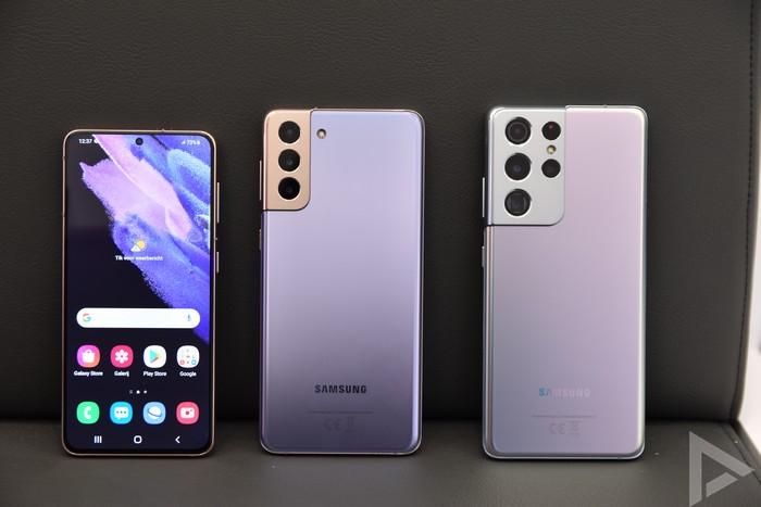 Samsung Galaxy S21 vergelijking