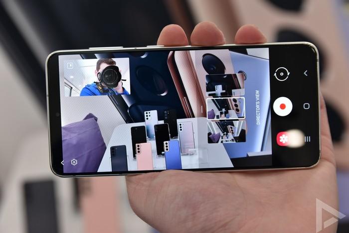 Samsung Galaxy S21 camera directors view