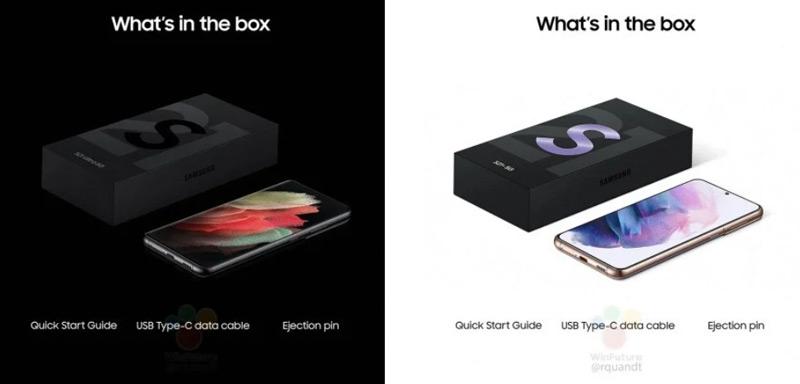 Samsung Galaxy S21 zonder oplader