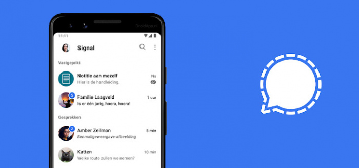 Signal opent aanval op WhatsApp: hoop nieuwe functies toegevoegd