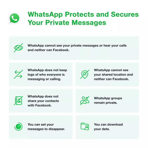 WhatsApp privacy 2021