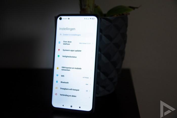 Xiaomi Redmi Note 9T instellingen