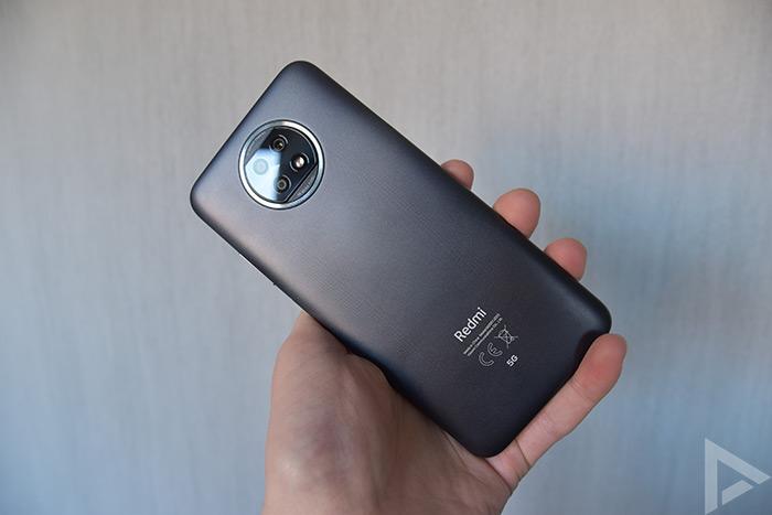 Xiaomi Redmi Note 9T achterkant
