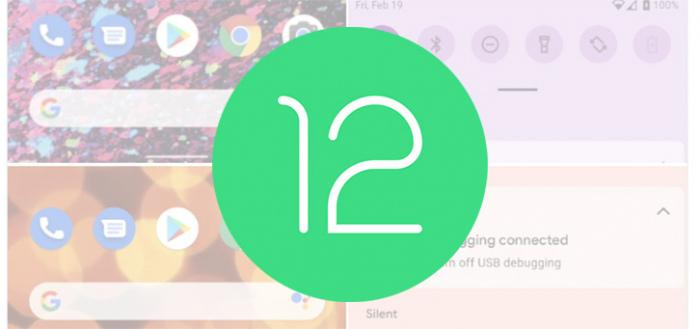 Zo zien de nieuwe wallpaper-thema's eruit op Android 12 (screenshots)