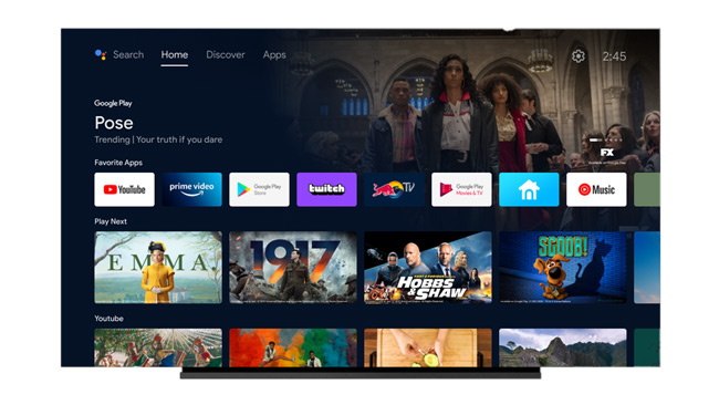 Android TV nieuwe update 2021