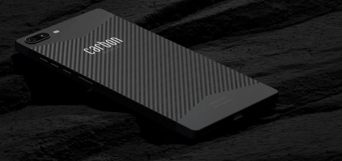 Carbon Mobile komt met 'Carbon 1 MK II': lichte smartphone van koolstofvezel