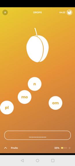 Drops taal leren app