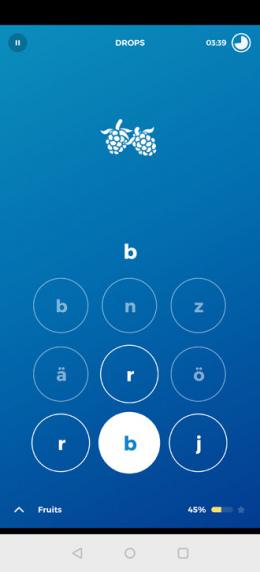 Drops app taal leren