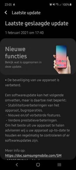 Galaxy A51 januari