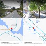 Google Maps Split-screen weergave