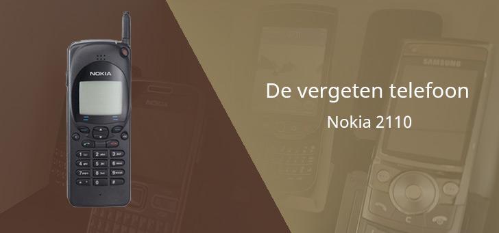 De vergeten telefoon: Nokia 2110 uit 1994