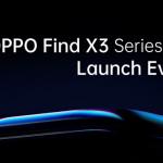 OPPO Find X3 launch header