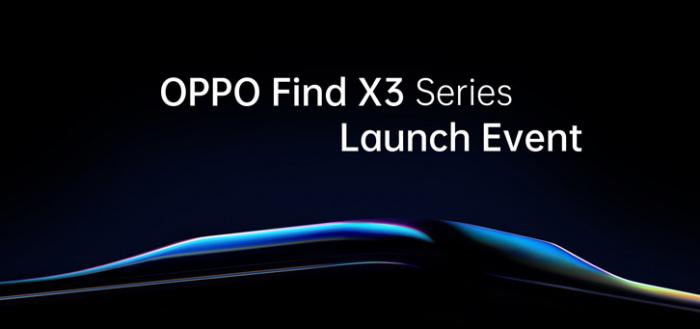 Officieel: OPPO Find X3-serie wordt 11 maart aangekondigd