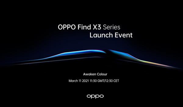 Oppo Find X3 11 maart teaser