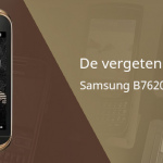 De vergeten smartphone: Samsung B7620 Giorgio Armani
