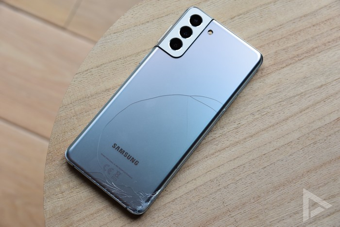 Samsung Galaxy S21+ achterkant