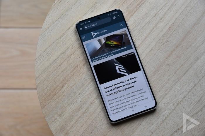 Samsung Galaxy S21+ internet