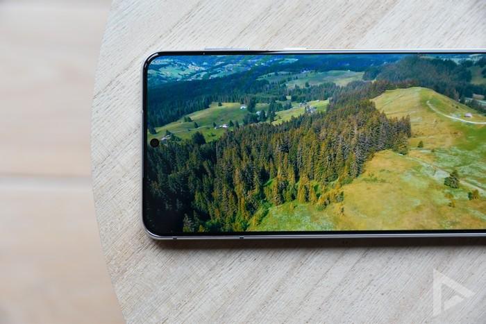 Samsung Galaxy S21+ scherm
