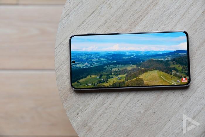 Samsung Galaxy S21+ beeldscherm