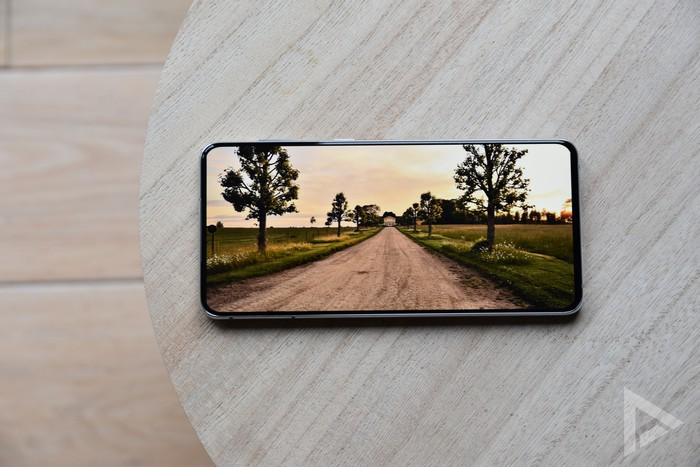 Samsung Galaxy S21+ display