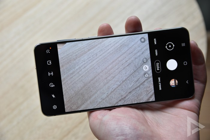 Samsung Galaxy S21+ camera