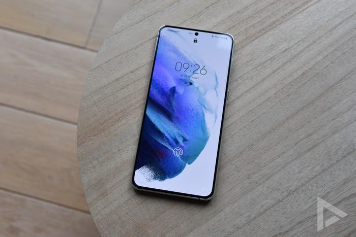 Samsung Galaxy S21+ vergrendelscherm