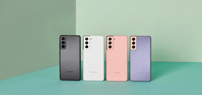 Samsung Galaxy S21-serie krijgt beveiligingsupdate maart 2021