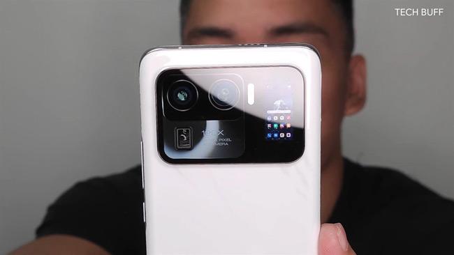 Xiaomi Mi 11 Ultra tweede scherm