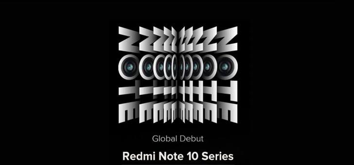 Xiaomi Redmi Note 10-serie komt 4 maart: eerste met AMOLED-scherm