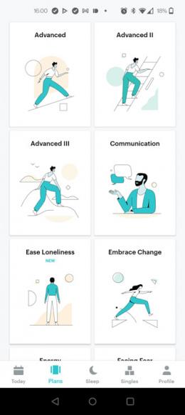 Balanced meditatie app